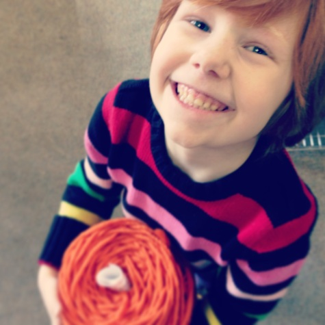 smiley yarn