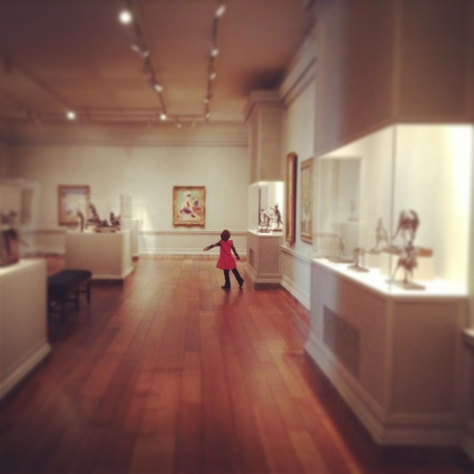 discovering degas