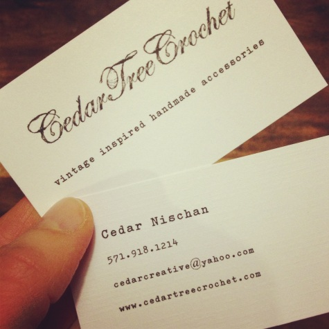 my baby business cards